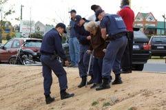 2009 południowi Africa wybory Zdjęcie Royalty Free