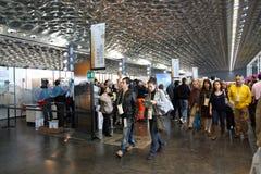 2009 poissons Gênes Italie lente Image libre de droits