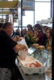 2009 poissons Gênes Italie lente Images libres de droits