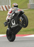 2009 Pramac Racing rider Niccolo Canepa stock photography