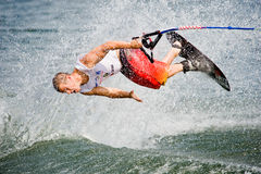 2009 Putrajaya Waterski World Cup Men Shortboard Royalty Free Stock Image