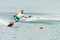 2009 Putrajaya Waterski World Cup Men Slalom Royalty Free Stock Photography