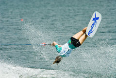 2009 Putrajaya Waterski World Cup Women Shortboard Royalty Free Stock Photo