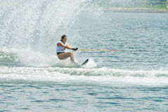 2009 Putrajaya Waterski World Cup Women Slalom Royalty Free Stock Image