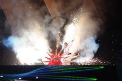 2009 ?rs Jeux Asiatiques d'arts martiaux Image libre de droits