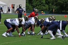 2009 Saint Louis Rams Training Camp Stock Photos
