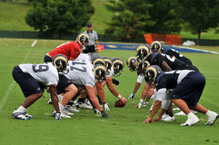 2009 Saint Louis Rams Training Camp Stock Photo