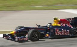 2009 Sebastian Vettel at Malaysian F1 Grand Prix Stock Photo