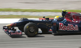 2009 Sebastien Buemi bij Maleise F1 Grand Prix Stock Foto
