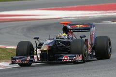 2009 sebastien rossoen för bourdais f1 toro Arkivbild
