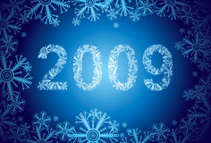 2009-snow Stock Image