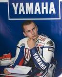 2009 Spaanse Jorge Lorenzo van het Team van Fiat Yamaha Royalty-vrije Stock Foto