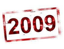 2009 stamp Stock Photo