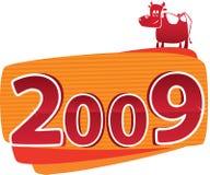 2009 Stier Stock Fotografie
