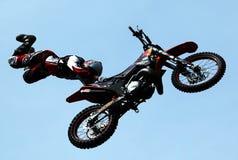 2009 styl wolny motocross Obrazy Royalty Free