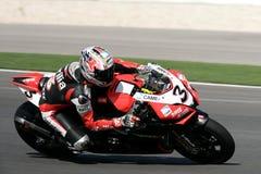 2009年superbikes 库存照片