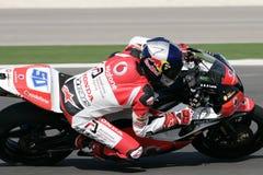 2009年superbikes 免版税库存照片