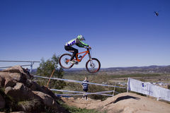 2009 UCI Mountain Bikes world champs Royalty Free Stock Photography