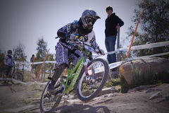 2009 UCI Mountain Bikes world champs Stock Photo