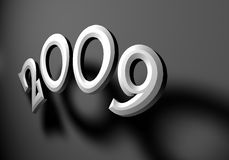 2009 year Stock Image