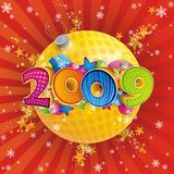 2009 year. New year 2009. Happy holidays Royalty Free Stock Photo