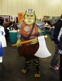 2009第24个中心cosplay活动擅长10月 库存照片