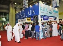 2009个所有品牌照相机gitex klik亭子销售额 免版税库存照片