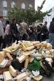 2009年notting狂欢节的小山 库存照片