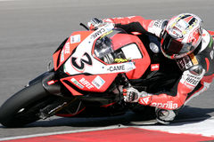 2009年superbikes 免版税库存图片