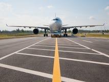 200f a330 Airbus airshow przyjazd Singapore Obrazy Stock
