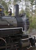 201个引擎蒸汽 免版税图库摄影