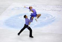 2010个冠军判断isu滑冰的世界 库存图片