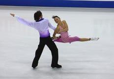 2010个冠军判断isu滑冰的世界 图库摄影