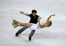 2010个冠军形象isu滑冰的世界 免版税库存图片