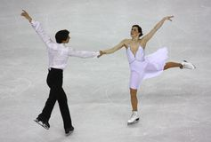 2010个冠军形象isu滑冰的世界 库存照片