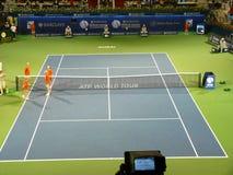 2010个冠军迪拜网球 免版税库存图片