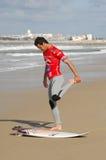 2010个卷毛人葡萄牙赞成裂口s 免版税图库摄影