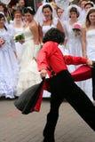 2010个新娘游行 库存图片