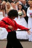 2010个新娘游行 免版税库存图片