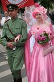 2010个新娘游行 库存照片
