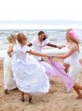 2010个新娘游行 免版税图库摄影