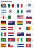 2010个杯子向量世界 免版税库存照片