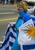 2010个杯子蒙得维的亚乌拉圭世界 图库摄影