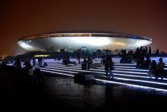 2010个艺术集中商展执行的上海世界 图库摄影