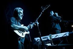 2010个音乐会12月francesco guccini米兰 免版税库存图片