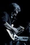 2010个音乐会12月francesco guccini米兰 免版税库存照片