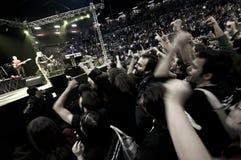 2010个音乐会12月francesco guccini米兰 库存图片