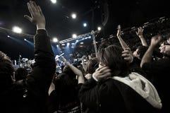 2010个音乐会12月francesco guccini米兰 免版税图库摄影