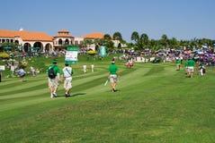2010亚欧联盟的高尔夫球皇家比赛战利 库存图片
