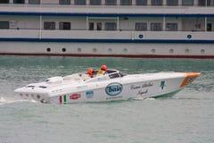 2010全部p1快速汽艇prix雅尔塔 免版税库存照片